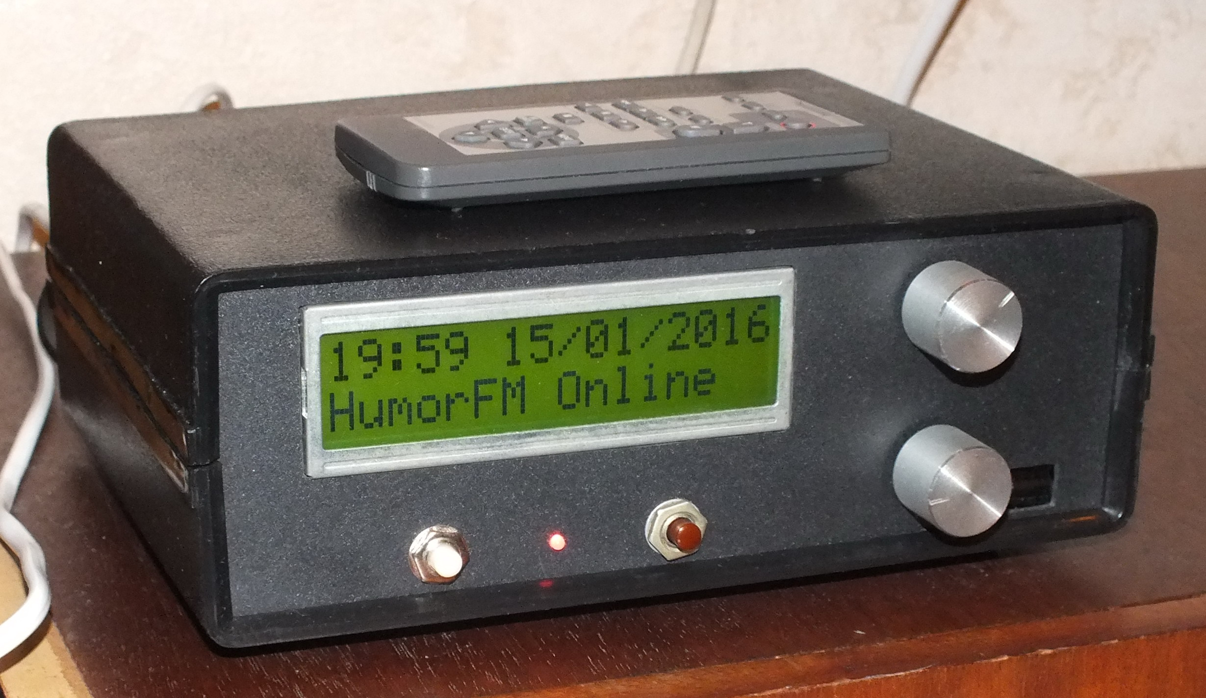 Интернет приёмник радио своими руками