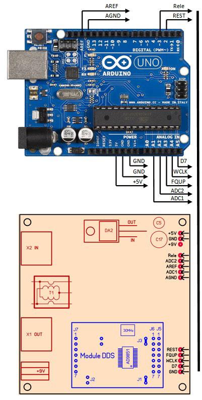 Антенный анализатор VNA на Arduino своими руками